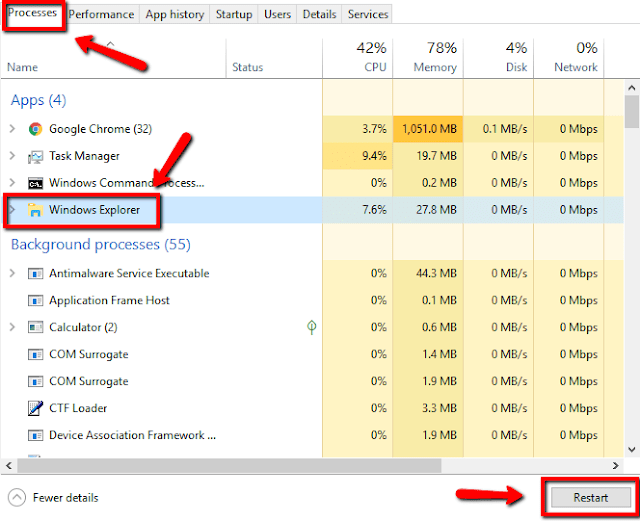 cara menampilkan icon taskbar yang hilang di windows  Cara Menampilkan Icon Taskbar Yang Hilang di Windows 10