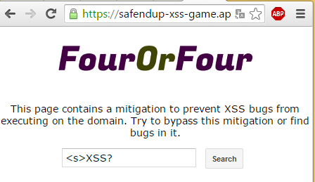XSS via window stop() - Google Safen Up | MB blog