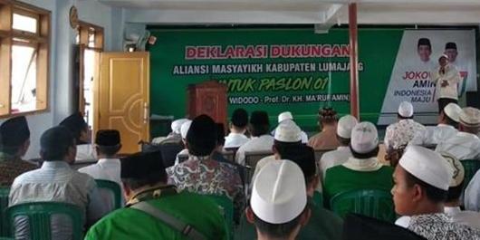 Titah Pengasuh Ponpes se-Kabupaten Lumajang: Menangkan Jokowi-Ma'ruf