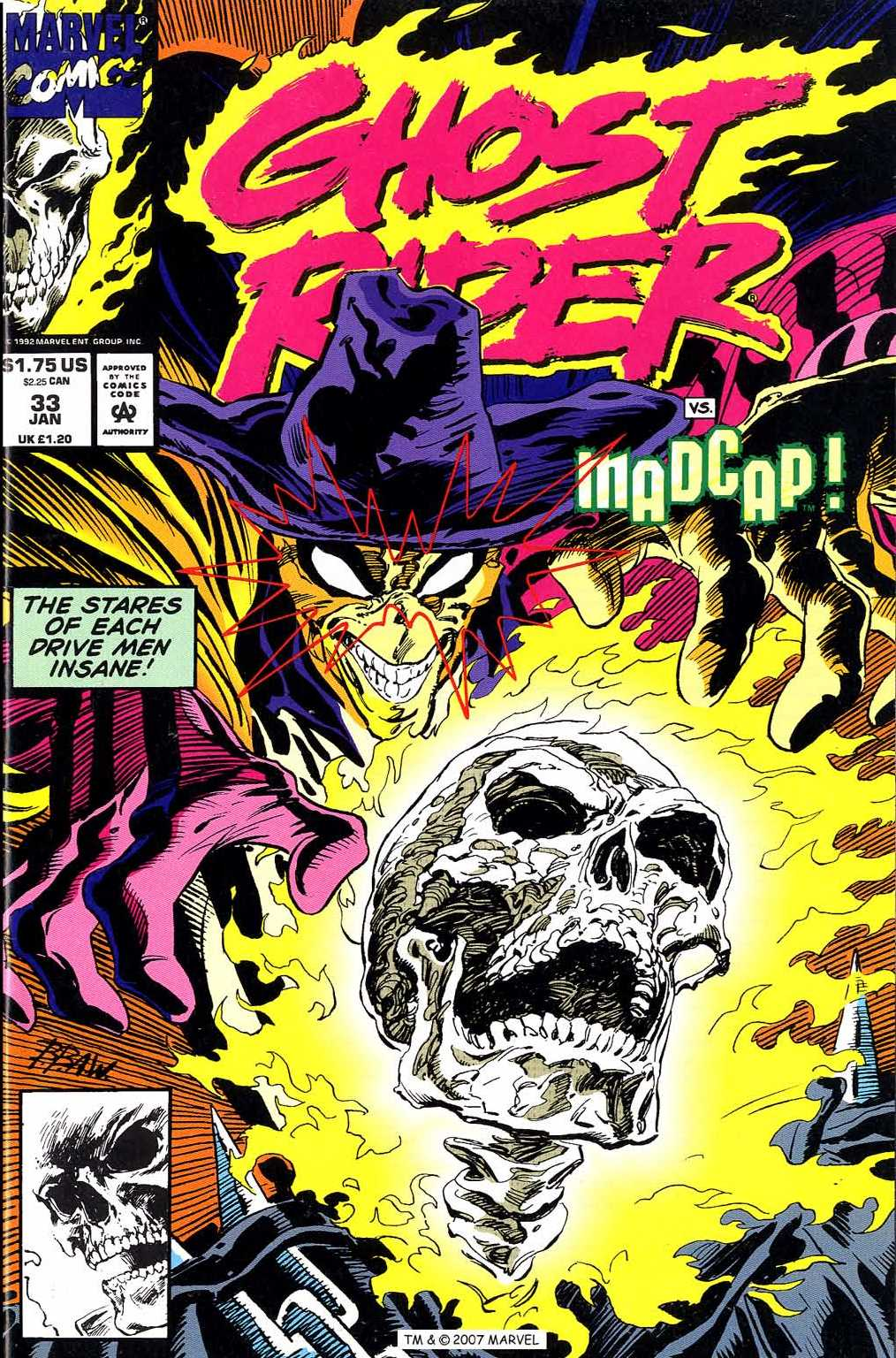 Ghost Rider (1990) 33 Page 1
