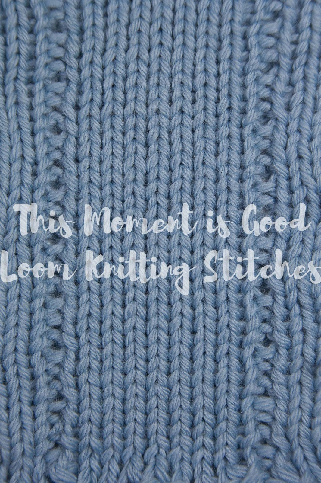 Gansey Eyelet Stitches And A Lace Panel Loom Loom Knitting By