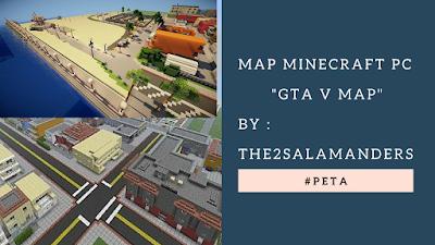 Keren MAP GTA V Di Minecraft PC