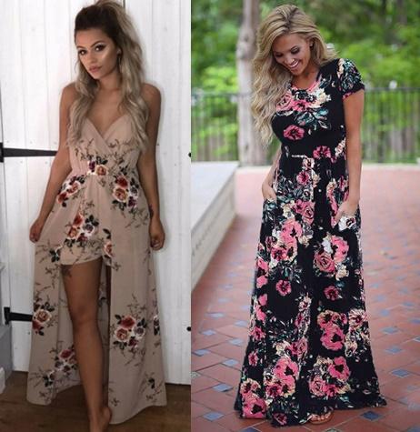 0760ee2322 Sukienki Maxi- moje propozycje dla Was - ChuckyLucky.pl