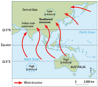 Latihan Soal dan Pembahasan UNBK Geografi Materi Konsep Dasar