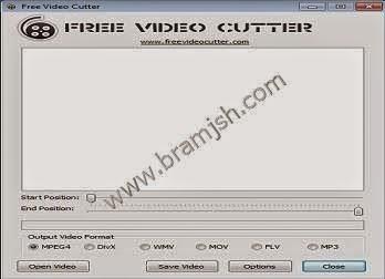 تحميل برنامج تقطيع الفيديو Free Video Cutter