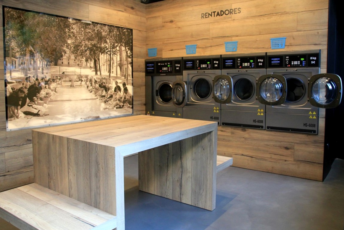 Self Service Laundry ~ Self service laundry barcelona laundromat