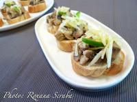 Ciuperci cu sos de mascarpone
