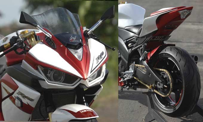 Modifikasi r25 terbaru movistar ala r6 r1 motogp dan moge