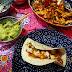 Fajitas de pollo inspirada en Frida Kahlo