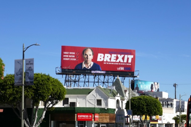 Brexit movie billboard