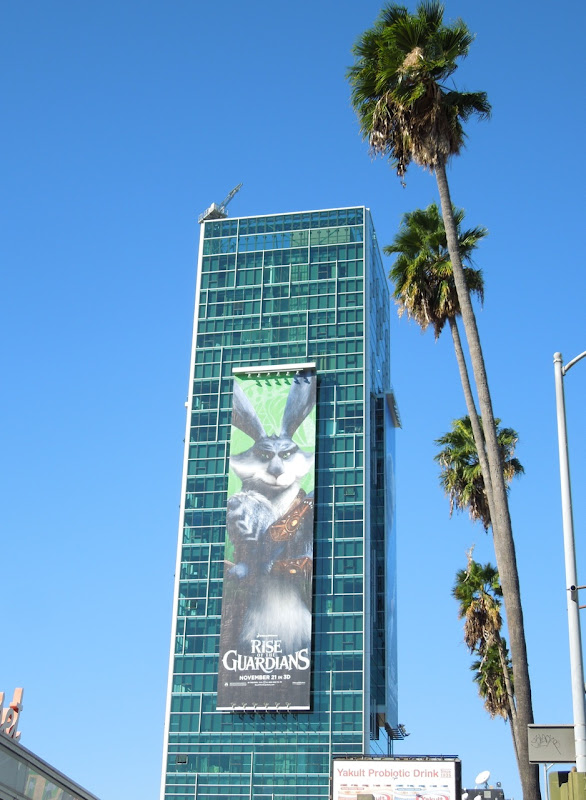 Giant Easter Bunny Rise Guardians billboard Sunset Vine