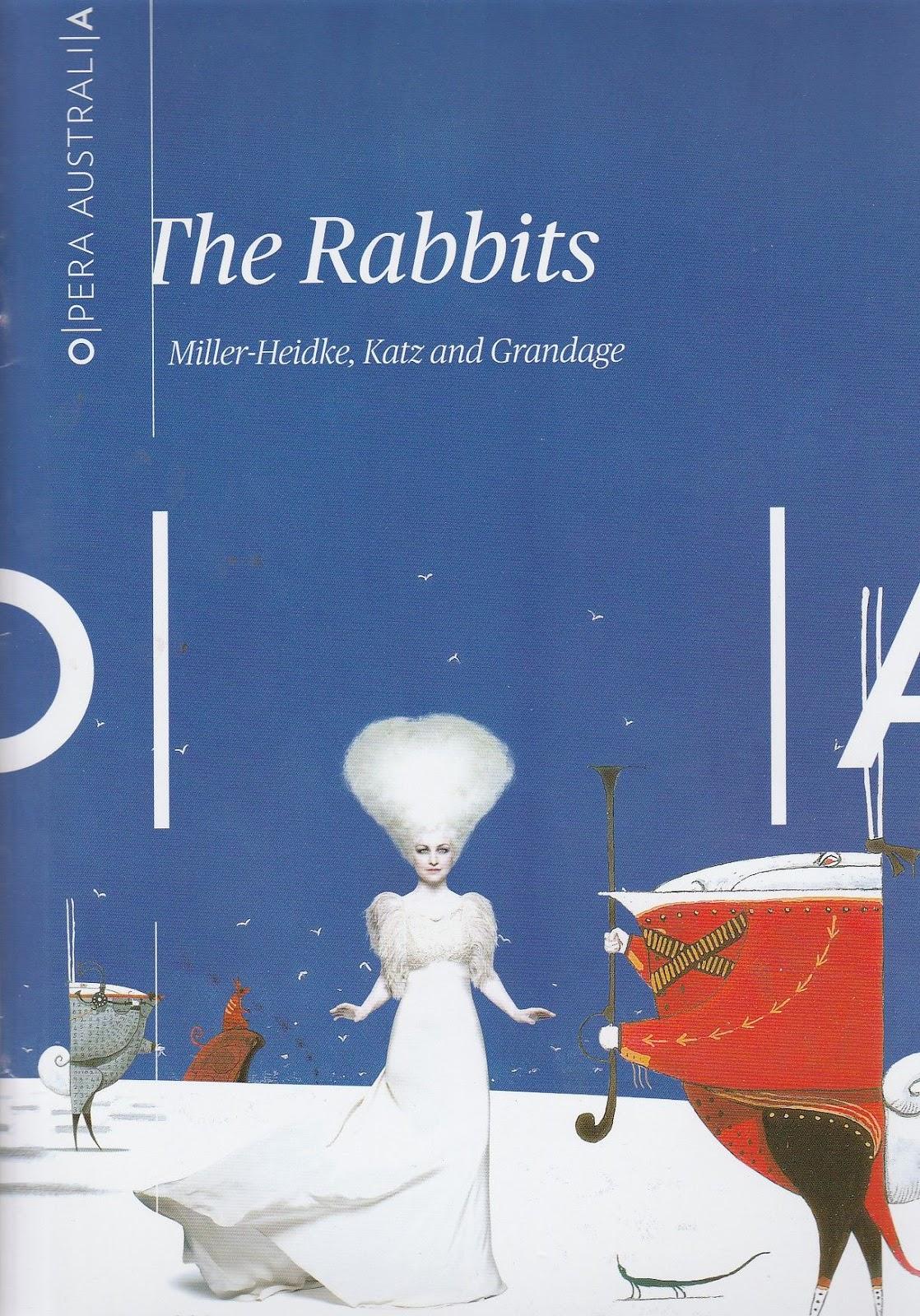 Canberra Critics Circle The Rabbits  Opera Australia