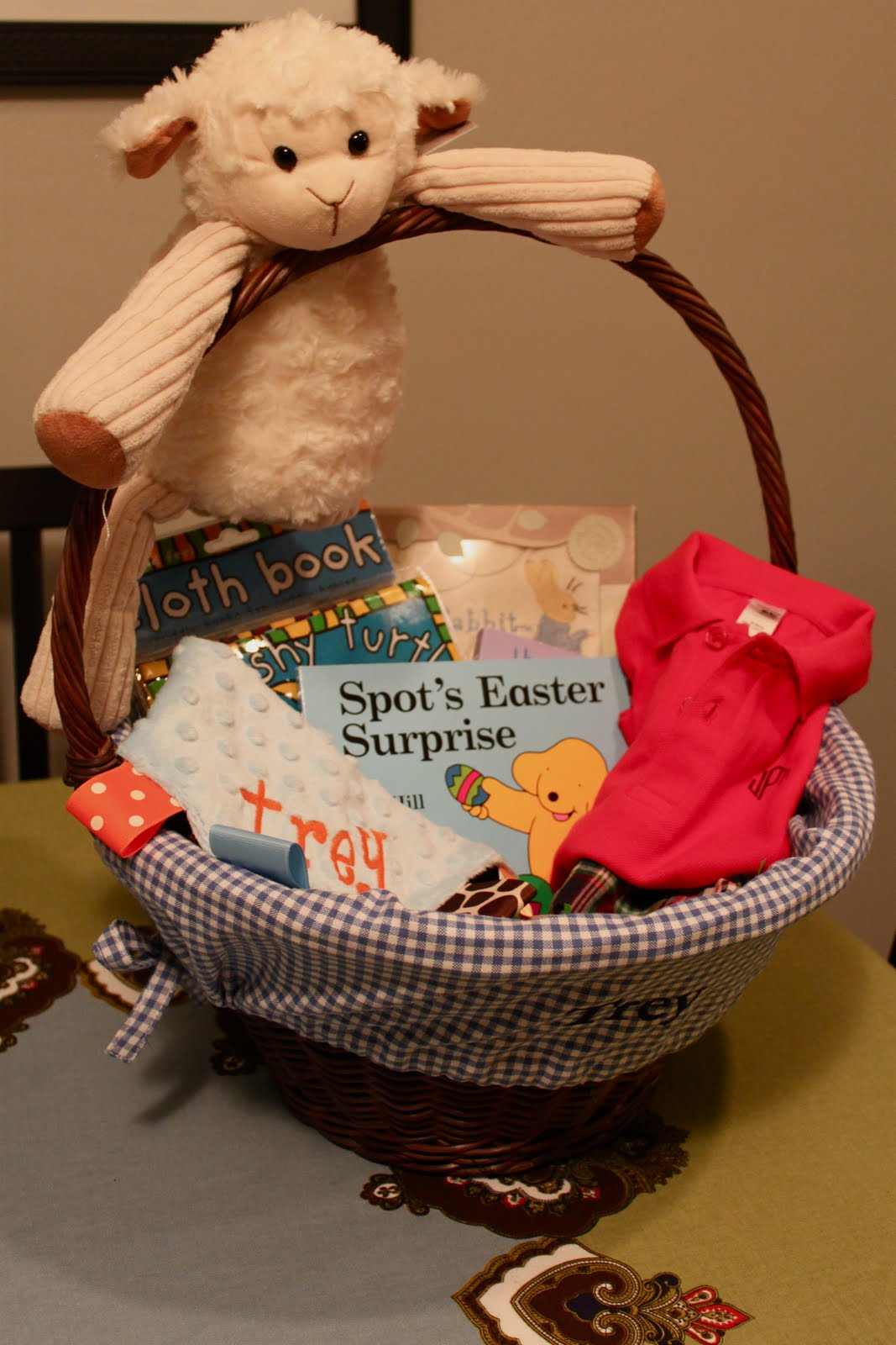Beach Bum Amp Baby Baby S First Easter Basket