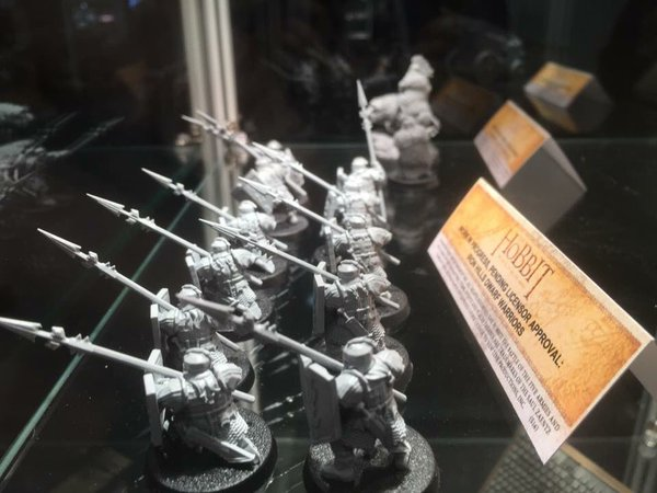 Games Workshop - The Hobbit - Dwarf Warriors of the Iron Hills