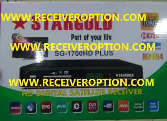 STARGOLD SG-1700HD PLUS RECEIVER POWERVU KEY NEW SOFTWARE