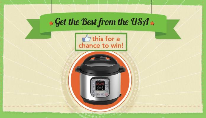 Worldwide Giveaway- WIN an Instant Pot with MyUS