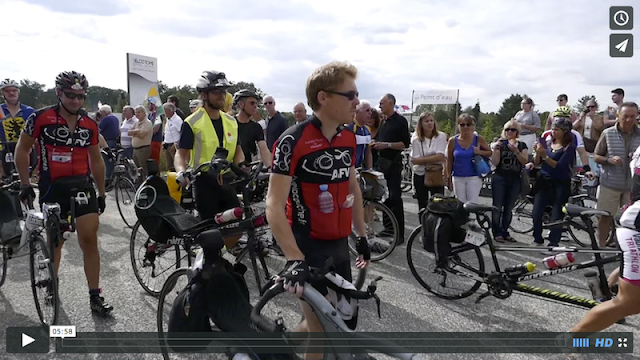 Départ des vélos spéciaux au Paris-Brest-Paris 2015