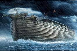Malaikat Jibril Menyampaikan Perintah Allah kepada Nabi Nuh untuk Menanam Sebuah Pohon.
