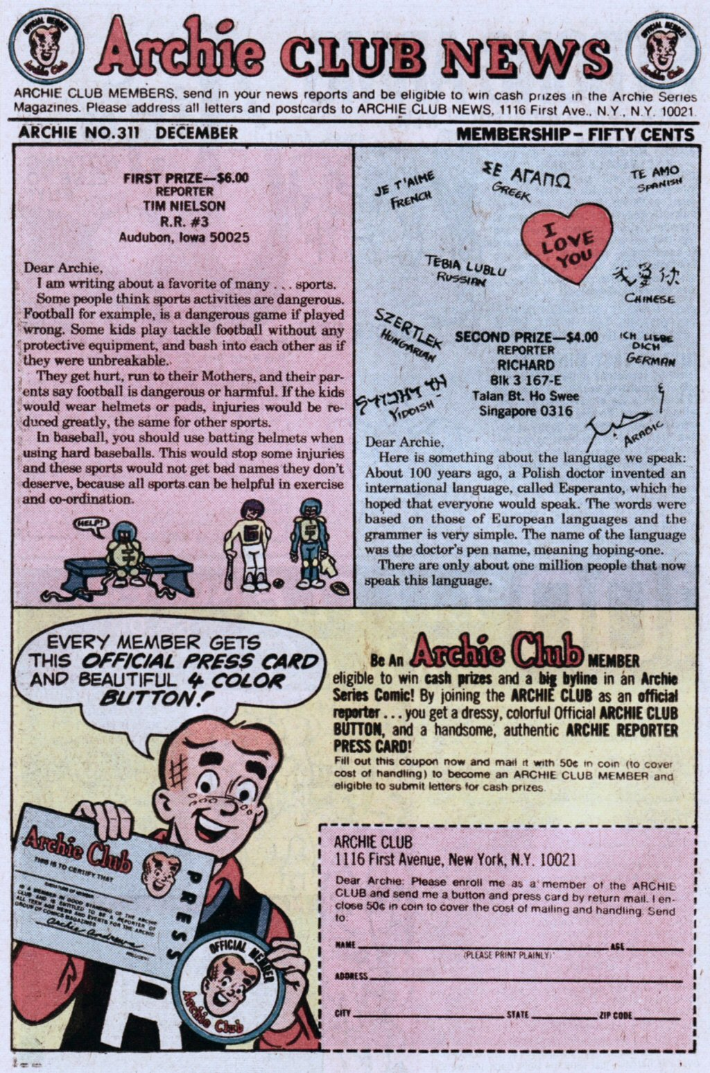 Read online Archie (1960) comic -  Issue #311 - 26