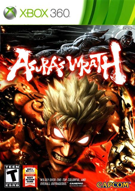 Asuras Wrath - Xbox 360 - Portada