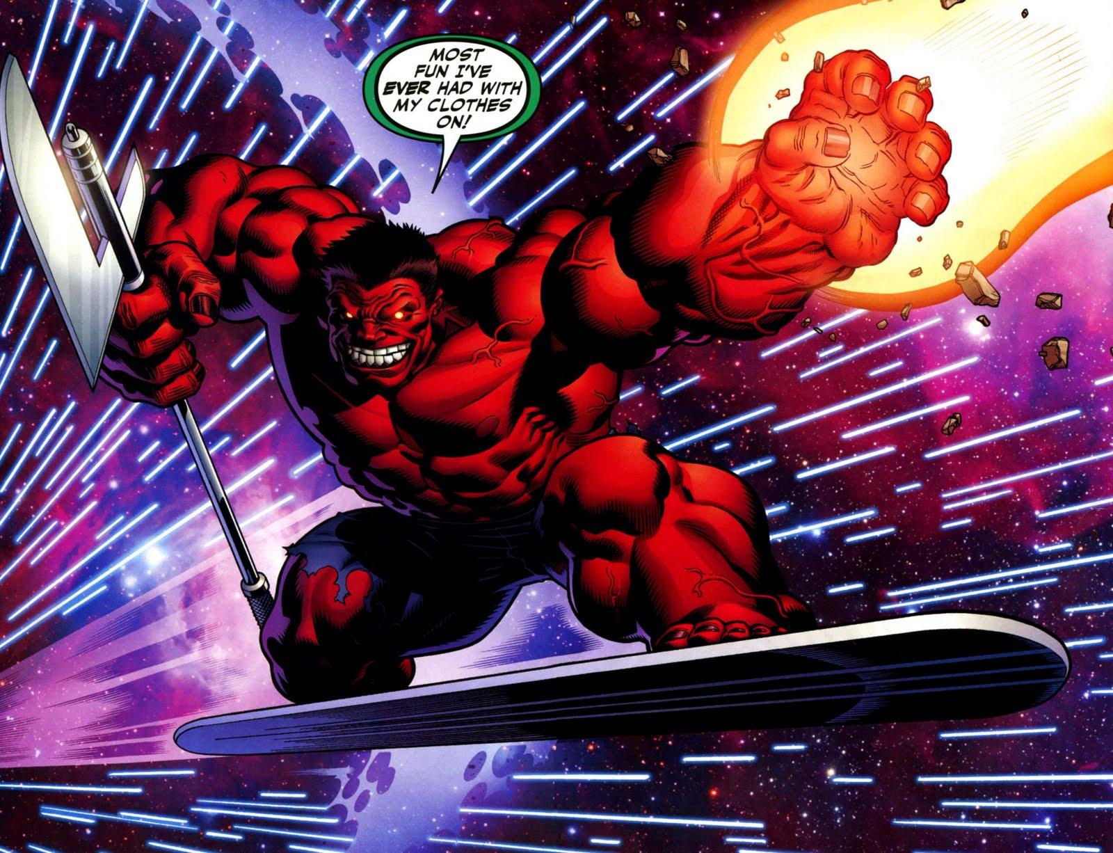 El blog de warrior galeria de imagenes e historia de red hulk - Pictures of red hulk ...
