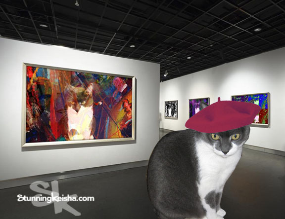 My New Exhibit at La Chat Galleria de Arte