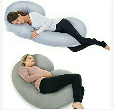 Pregnancy Pillow - Full Body Maternity Sleeping Cushion