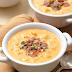 Slow Cooker Cheesy Potato Soup #Recipe