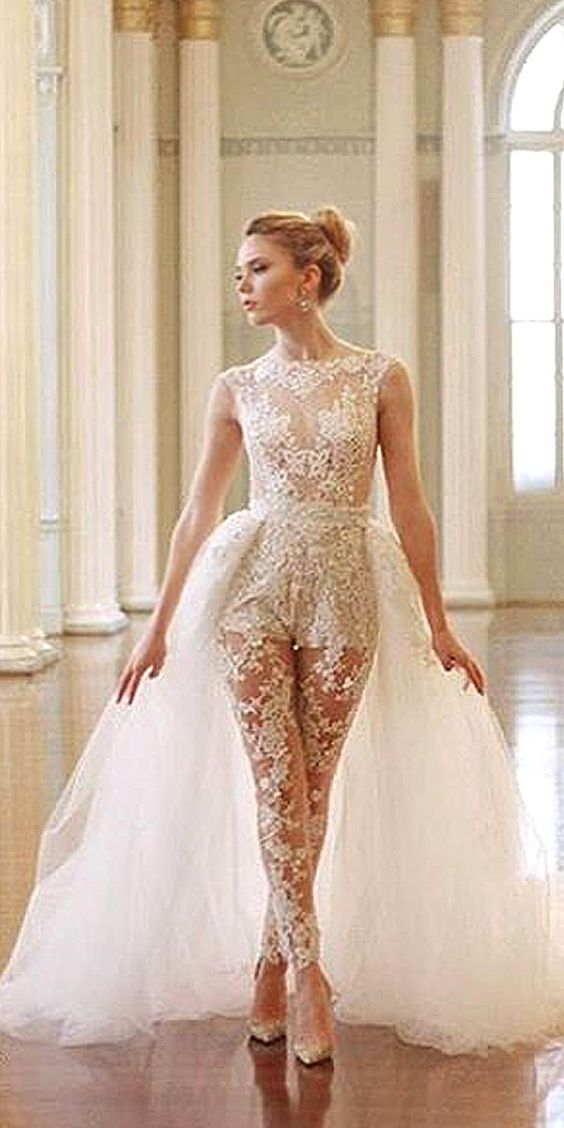Lace and Tulle Combination – Gorgeous Jumpsuits Image 2
