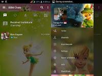 BBM Mod Tema Tinkerbell APK Terbaru v3.3.1.24