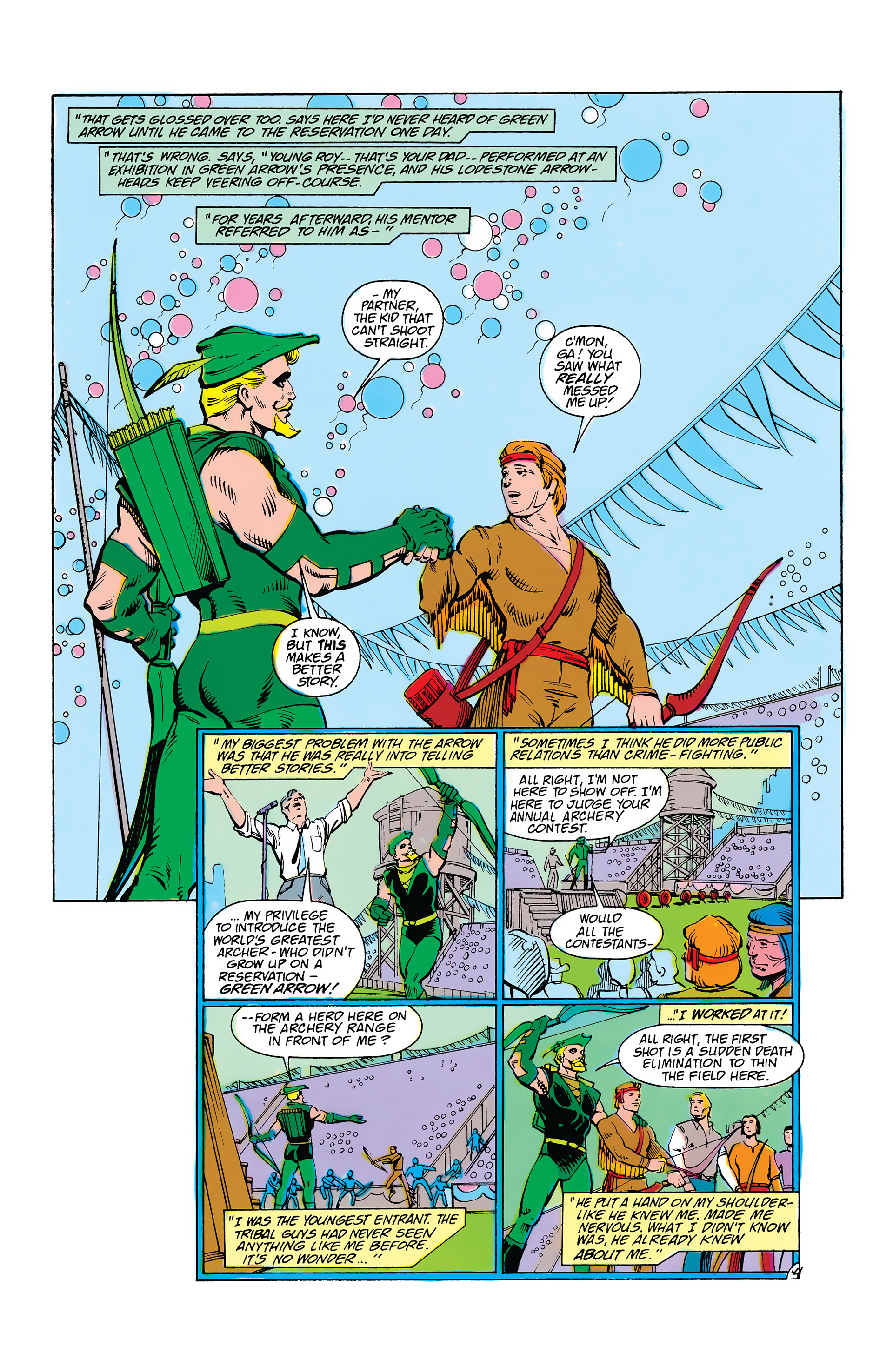 Read online Secret Origins (1986) comic -  Issue #38 - 27