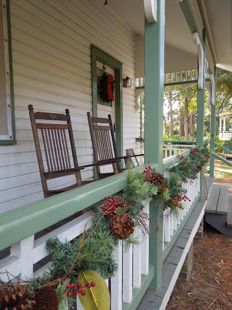 Plant Sumner House porch
