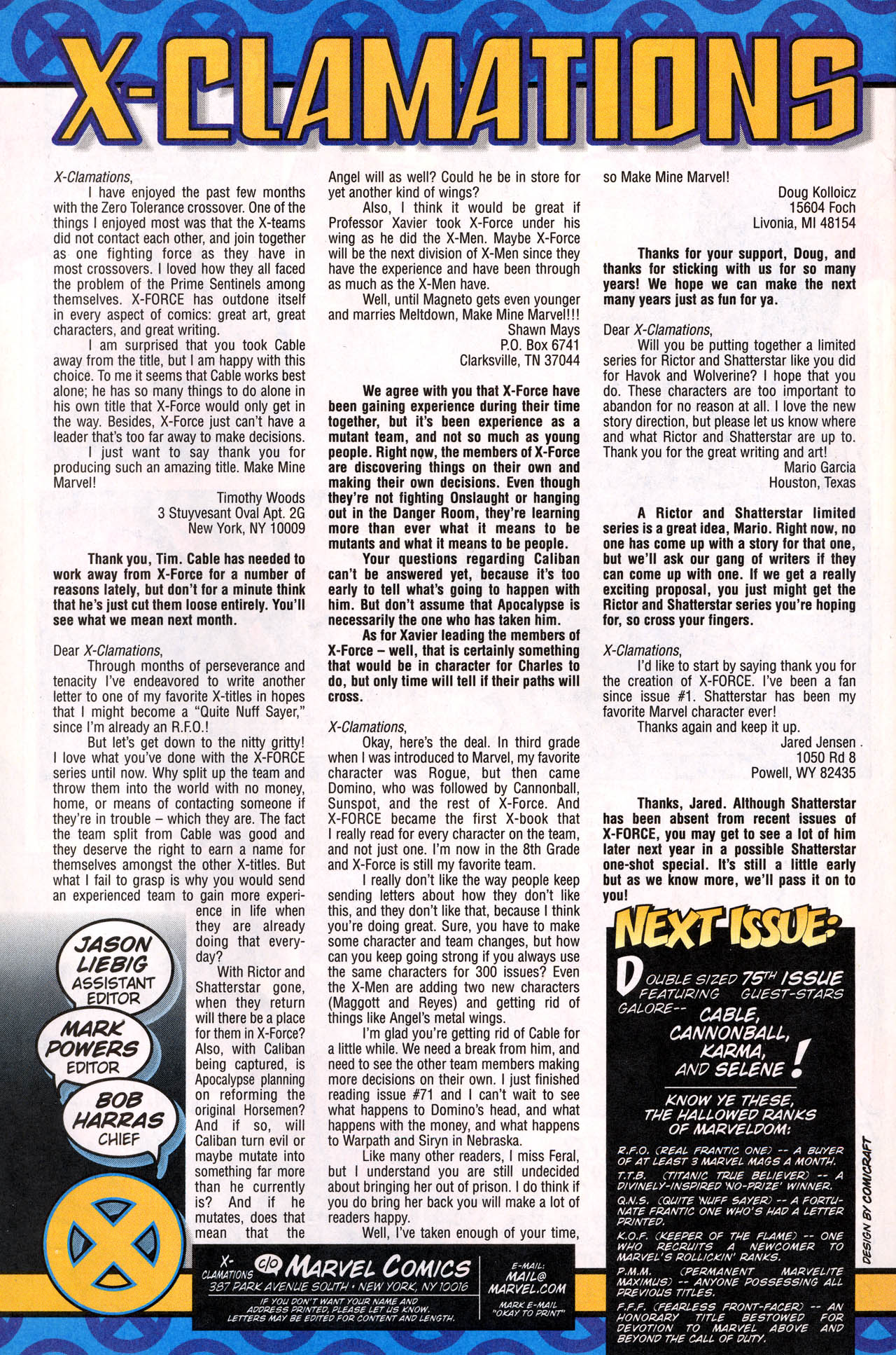 Read online X-Force (1991) comic -  Issue #74 - 34