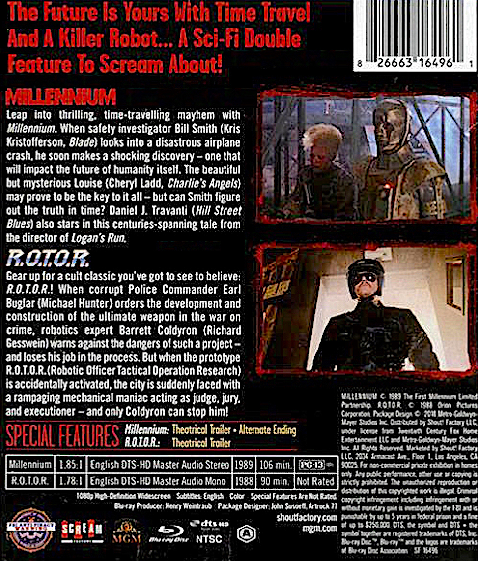 Blu-Ray And Dvd Covers Scream Factory Double Feature Blu -5595