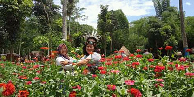 Kampung Afrika Objek Wisata Hits Terbaru Di Kota Blitar