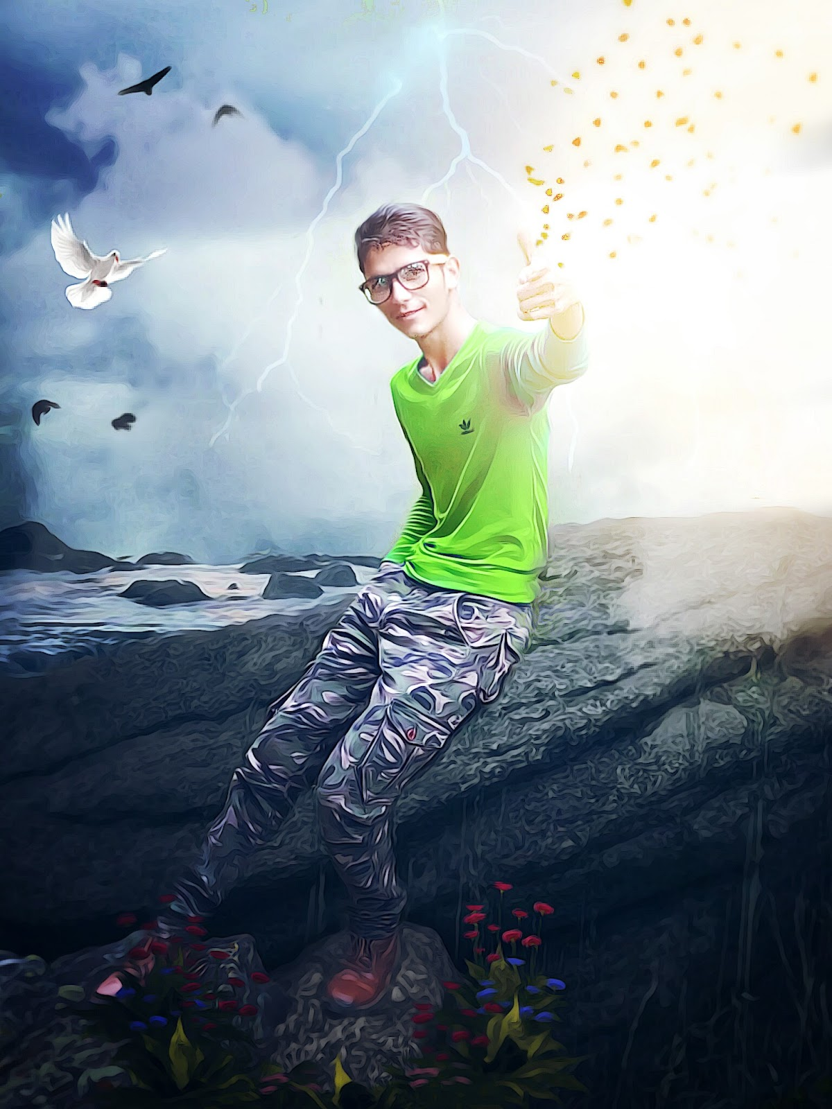Best Editing Effects: Real Image Editing by PicsArt (Kamal ...
