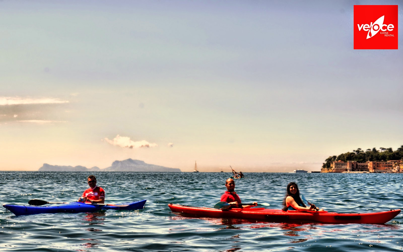 kayak in naples italy