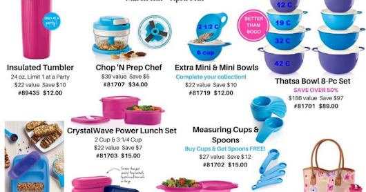 YES its a New Mid Month Brochure from Tupperware!