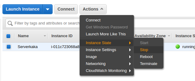 How to Increase EBS Volume Size of AWS EC2 Linux Instance ~ ServerKaKa