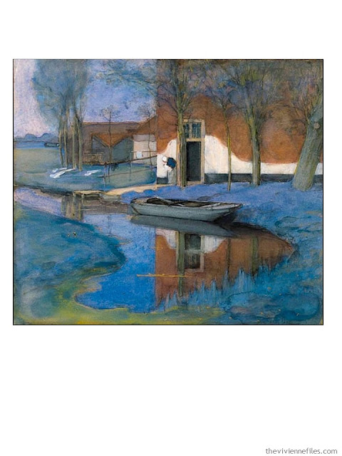 A Farm by Piet Mondrian