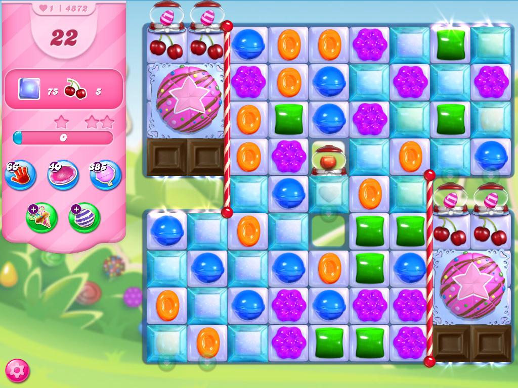Candy Crush Saga level 4872