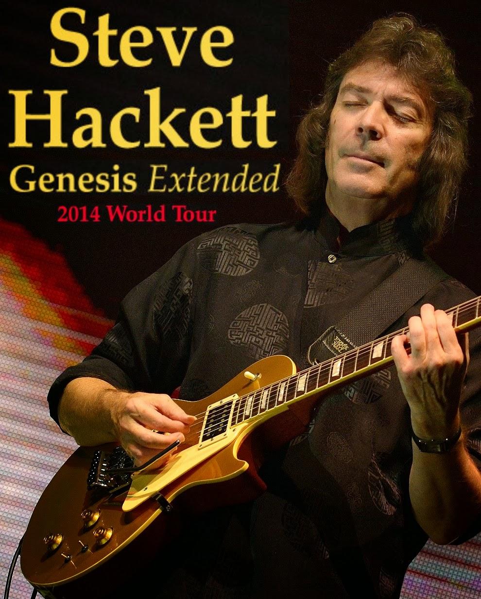 Steve Hackett torna in Italia con il Genesis Extended World Tour