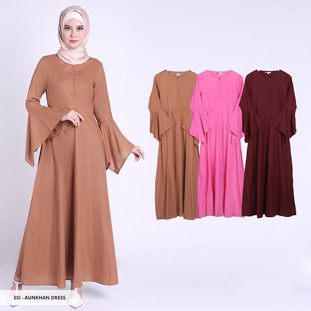 88 Model Baju Muslimah Gamis Dan Tunik Terbaru Modern Tahun 2018