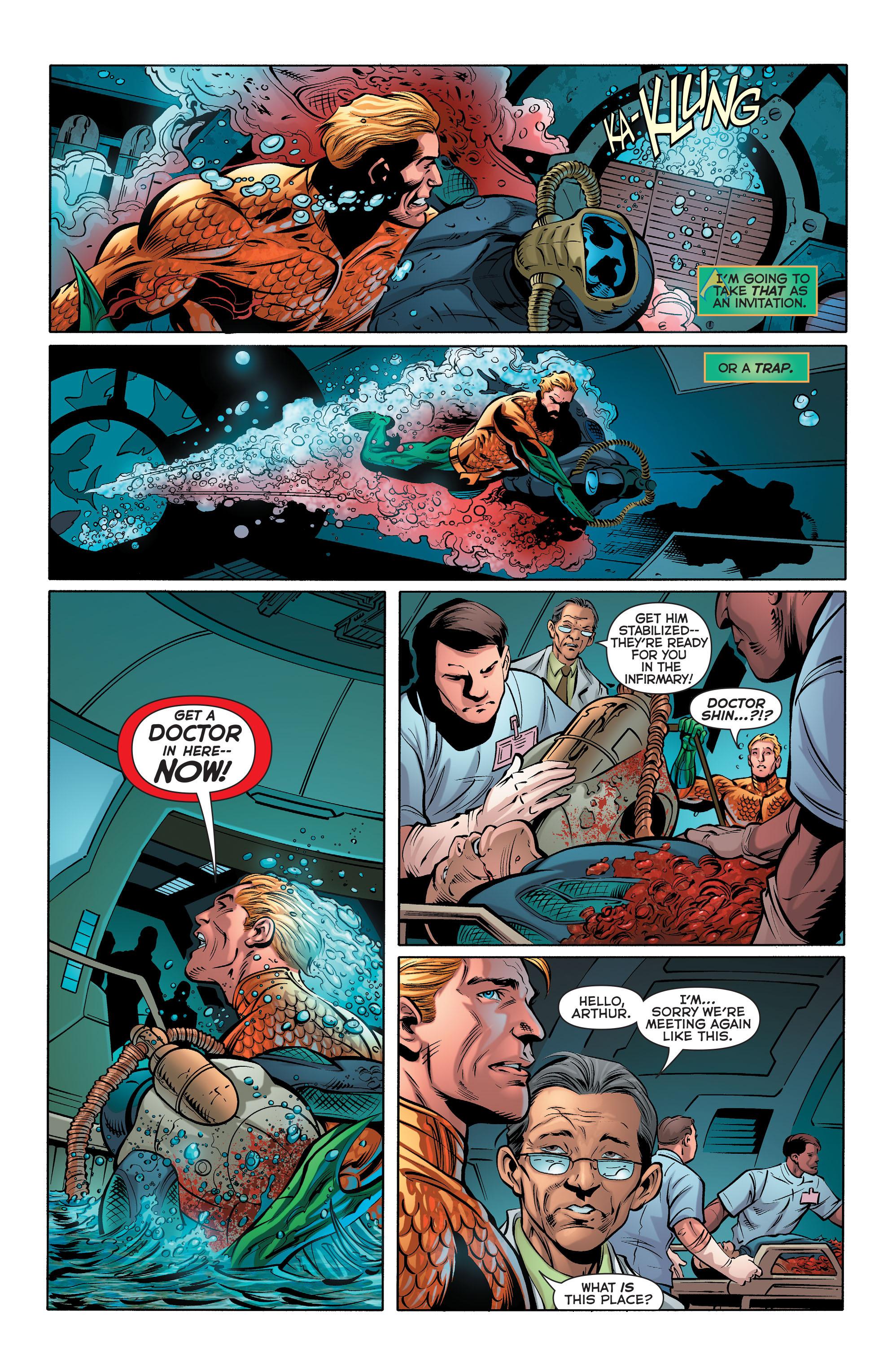 Read online Aquaman (2011) comic -  Issue #28 - 7