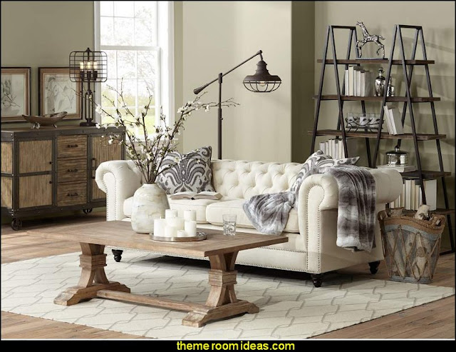 Industrial Chic Industrial style decorating ideas - Industrial chic decorating decor - Gears decor - City living urban style -  Modern Industrial  - Industrial urban loft decorating ideas -  industrial bedroom ideas