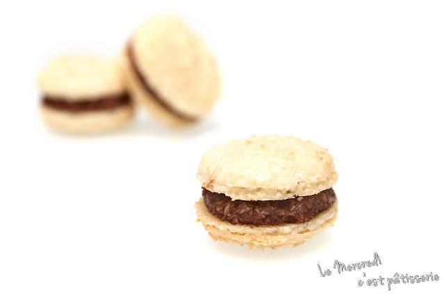 Macarons Bounty - ou Mutine - de Pierre Hermé