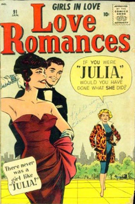Love Romances Comics