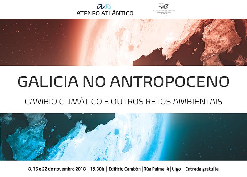 Galicia No Antropoceno Cartel