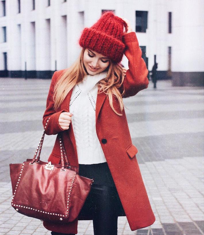 как одеваться в холода, как правильно одеваться на холод, стиль блоггеров зимой, модные блоггеры зима 2016