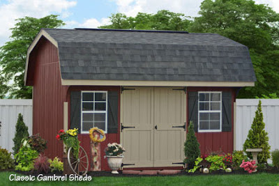 Sheds Unlimited LLC: Landscaping Amish Backyard Structures ...